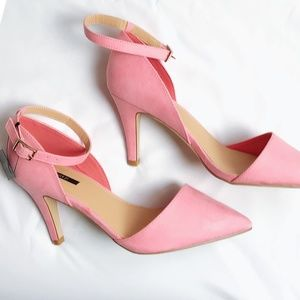 NIB Forever 21 size 7 Pink D'Orsay Pumps